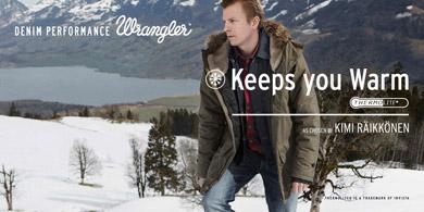 Wrangler Denim Performance Jeans mit Thermolight