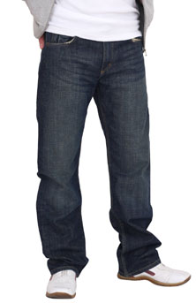 lee jeans kent - loose fit jeans für herren