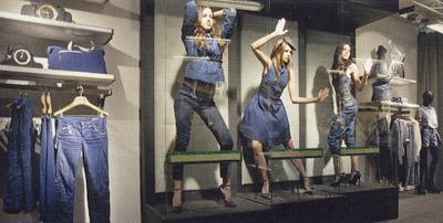 Neuer G-Star Store in Amsterdam speziell für G-Star Women
