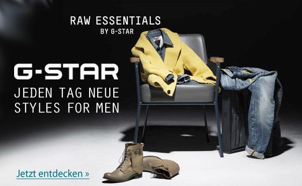 G Star Raw Denim Jeans für Herren