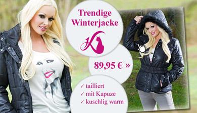 Trendige Damen Winterjacke aus der aktuellen Daniela Katzenberger Kollektion