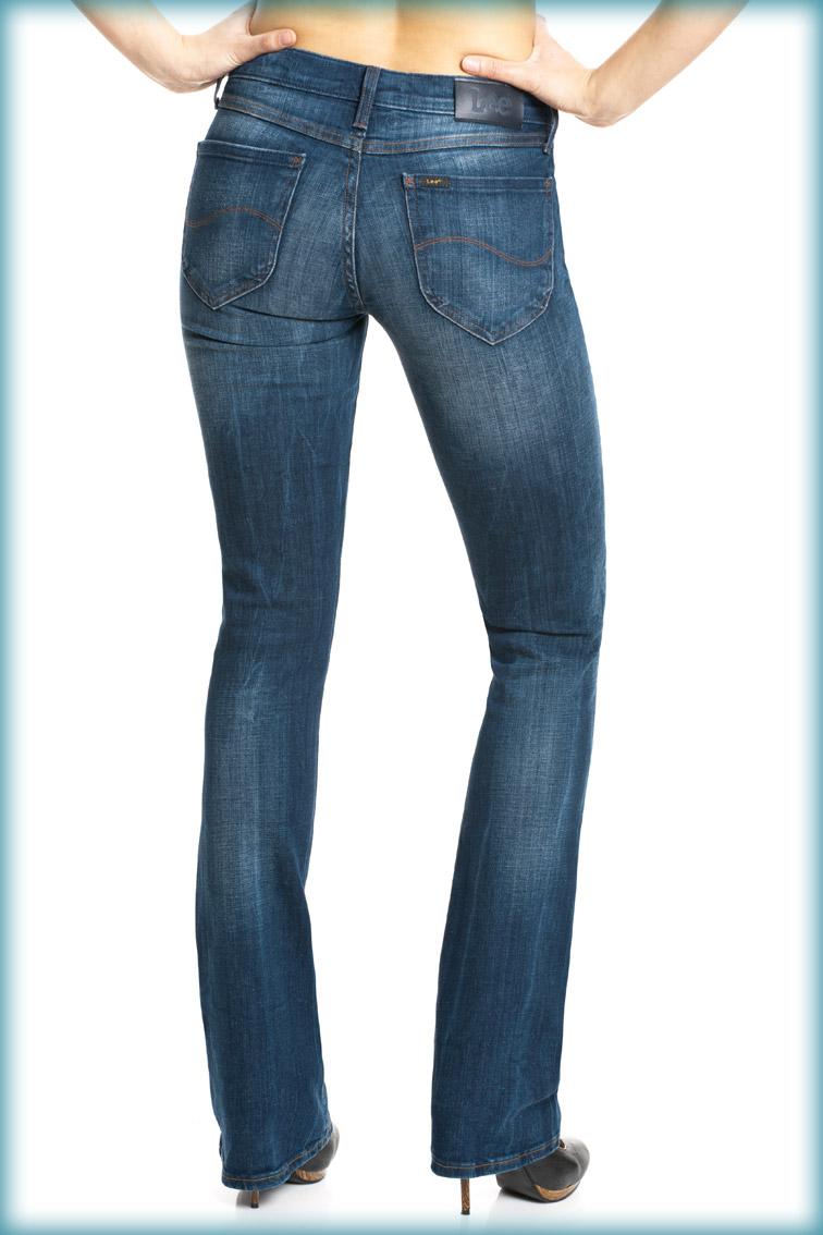 Die neue Lee Jeans Bonnie mit dem neuartigen Lee Stretch Deluxe