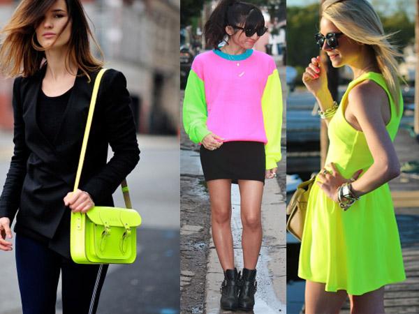 Der neue Modetrend im Frühjahr 2013 - Neonfarben