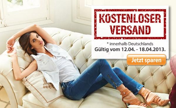 Online Jeans bestellen versandkostenfrei und tolle Service-Vorteile nutzen.