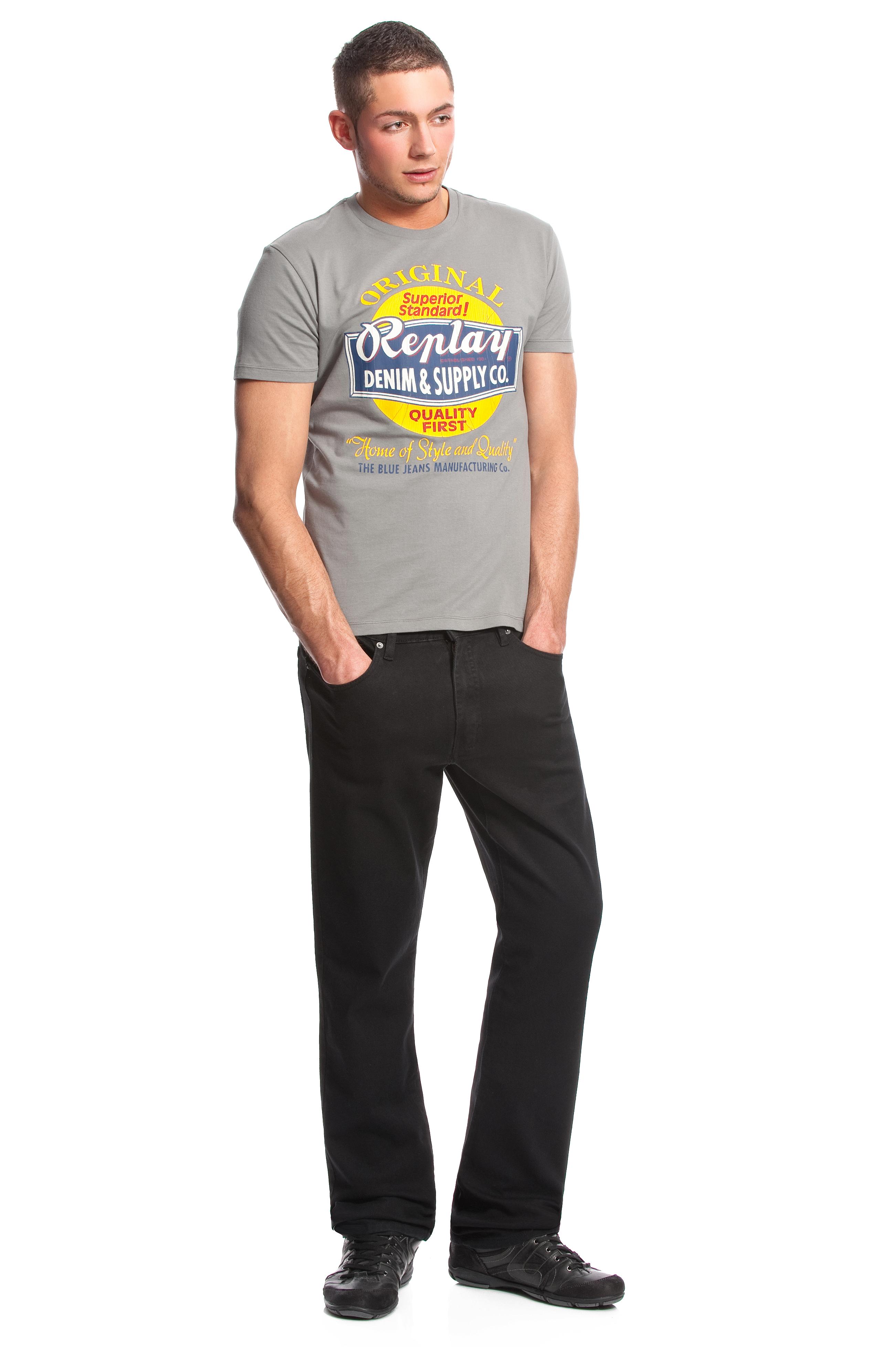 Colorado Jeans Stan Stretch (schwarz)