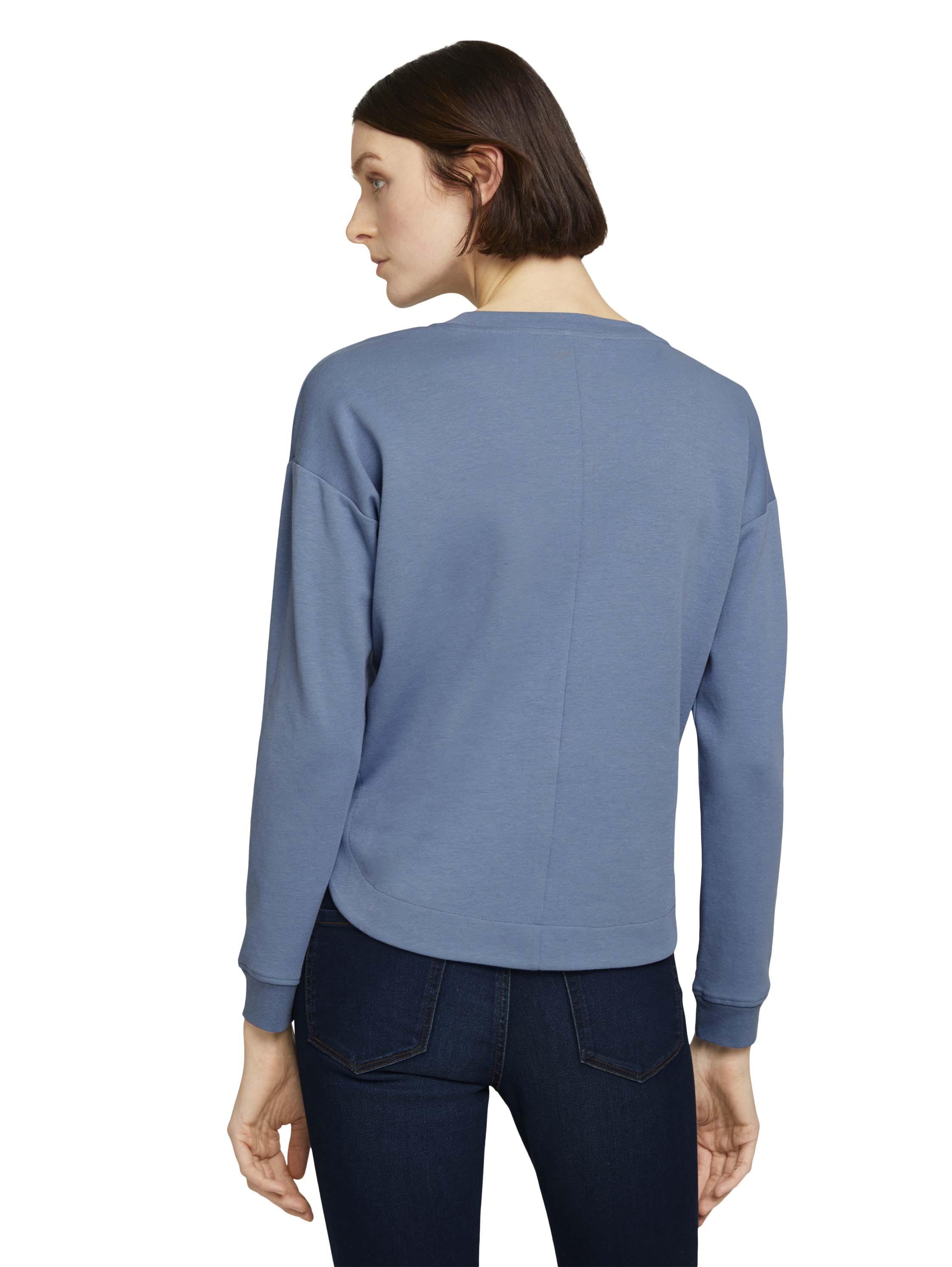 Tom Tailor Denim Pullover Hem blau