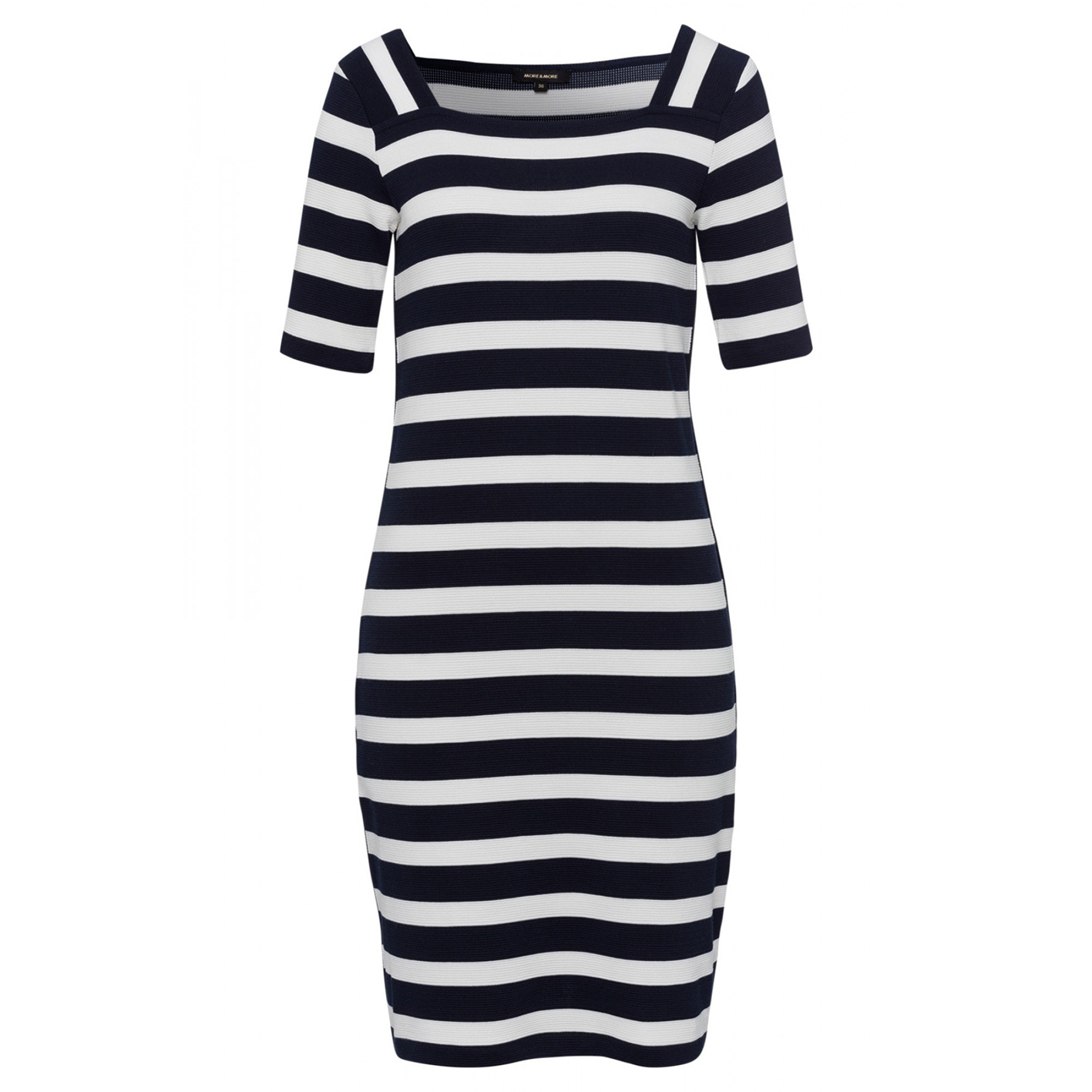 More & More gestreiftes Kleid