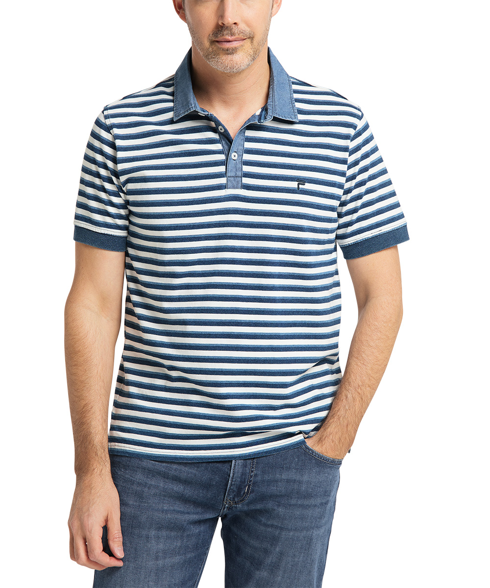 Pioneer Polo Stripe