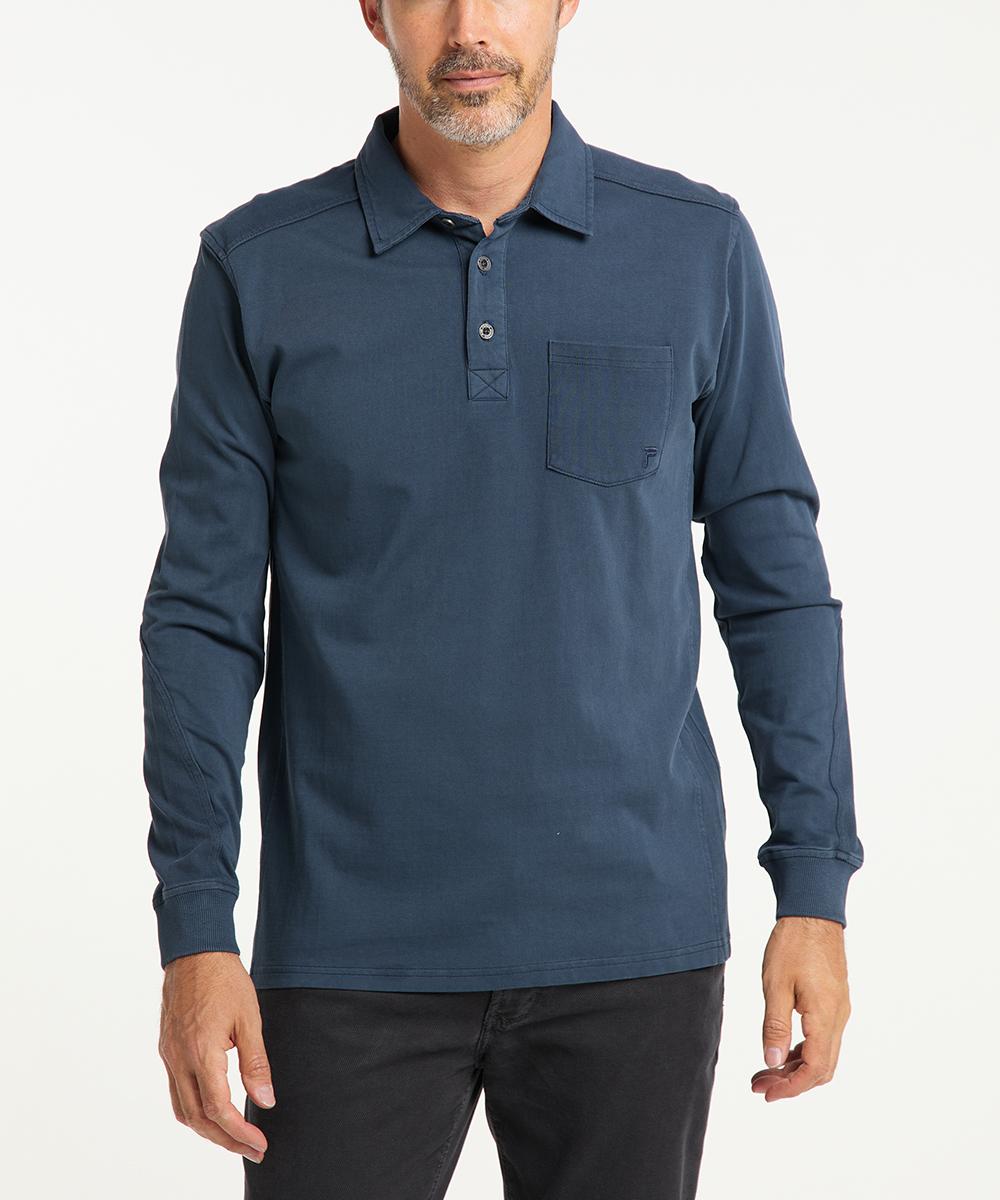 Pioneer Langarm-Poloshirt Michél