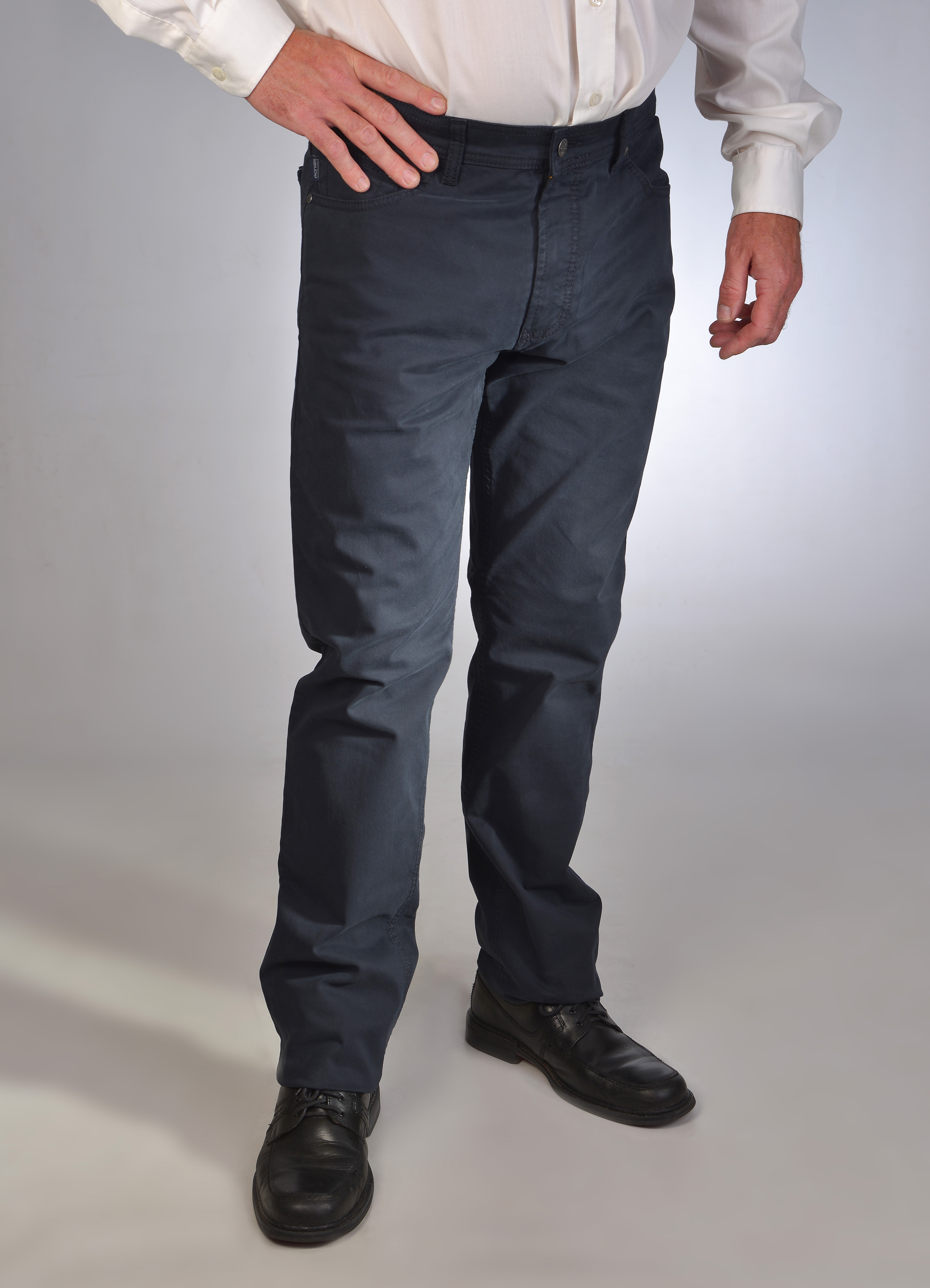 Pionier Jeans Marc extra lang navy