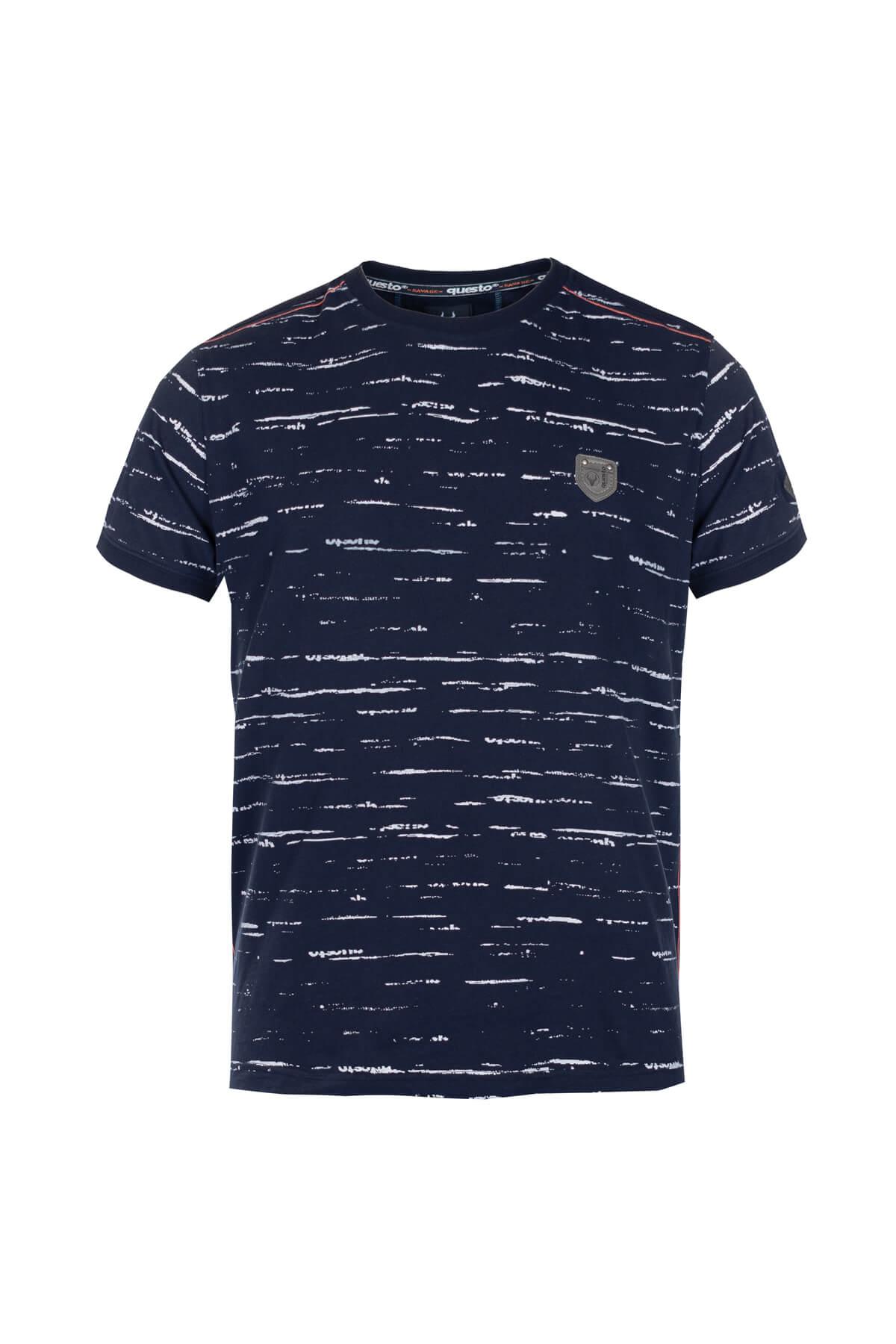 Questo Shirt Dakari blau