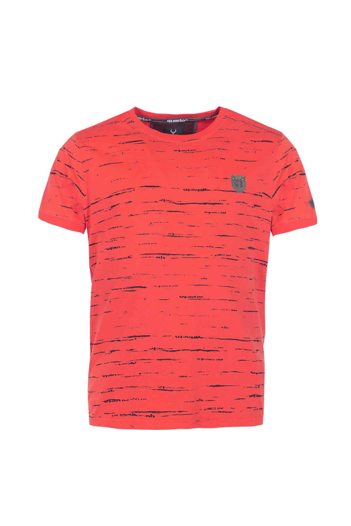Questo Shirt Dakari rot