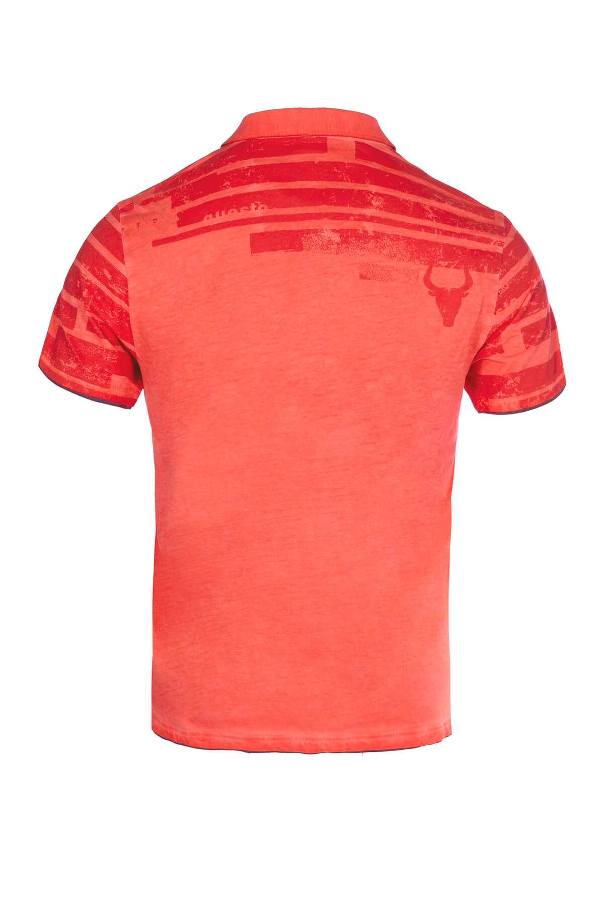 Questo Poloshirt Daniel rot