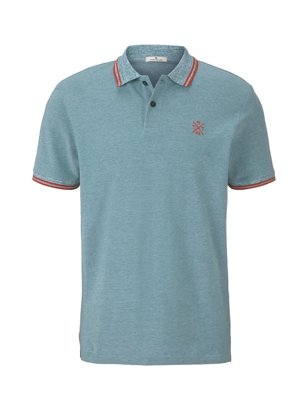 Tom Tailor Poloshirt in two-tone Optik