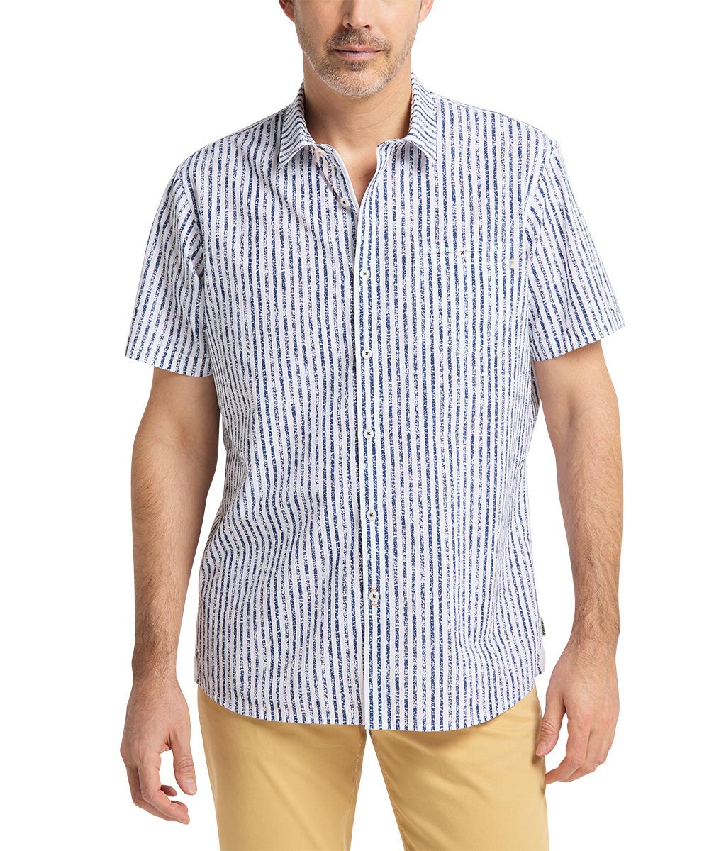 Pioneer Hemd Stripe indigo