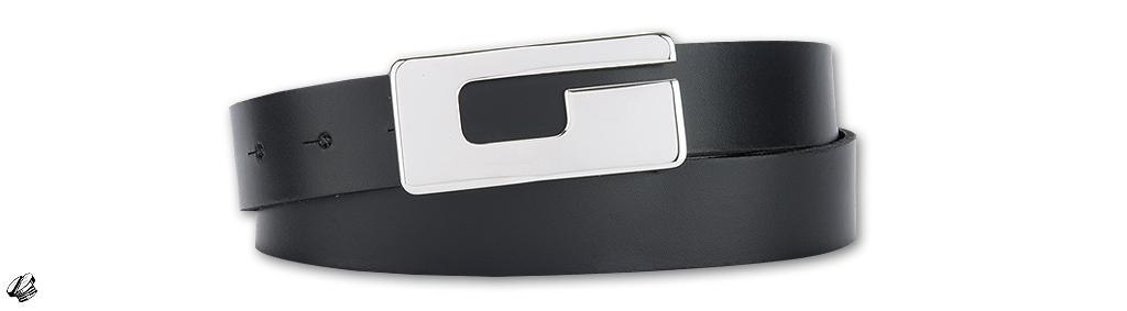 Bernd Götz 3cm Softleder Koppelgürtel