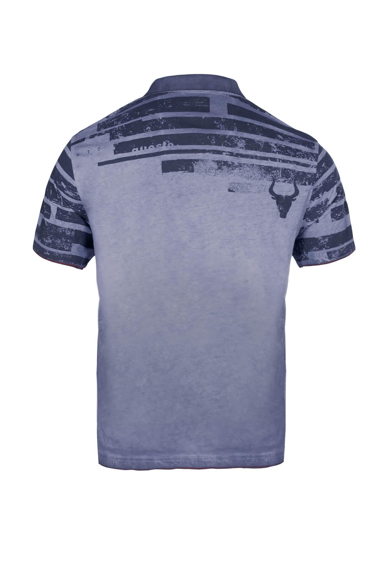 Questo Poloshirt Daniel blau