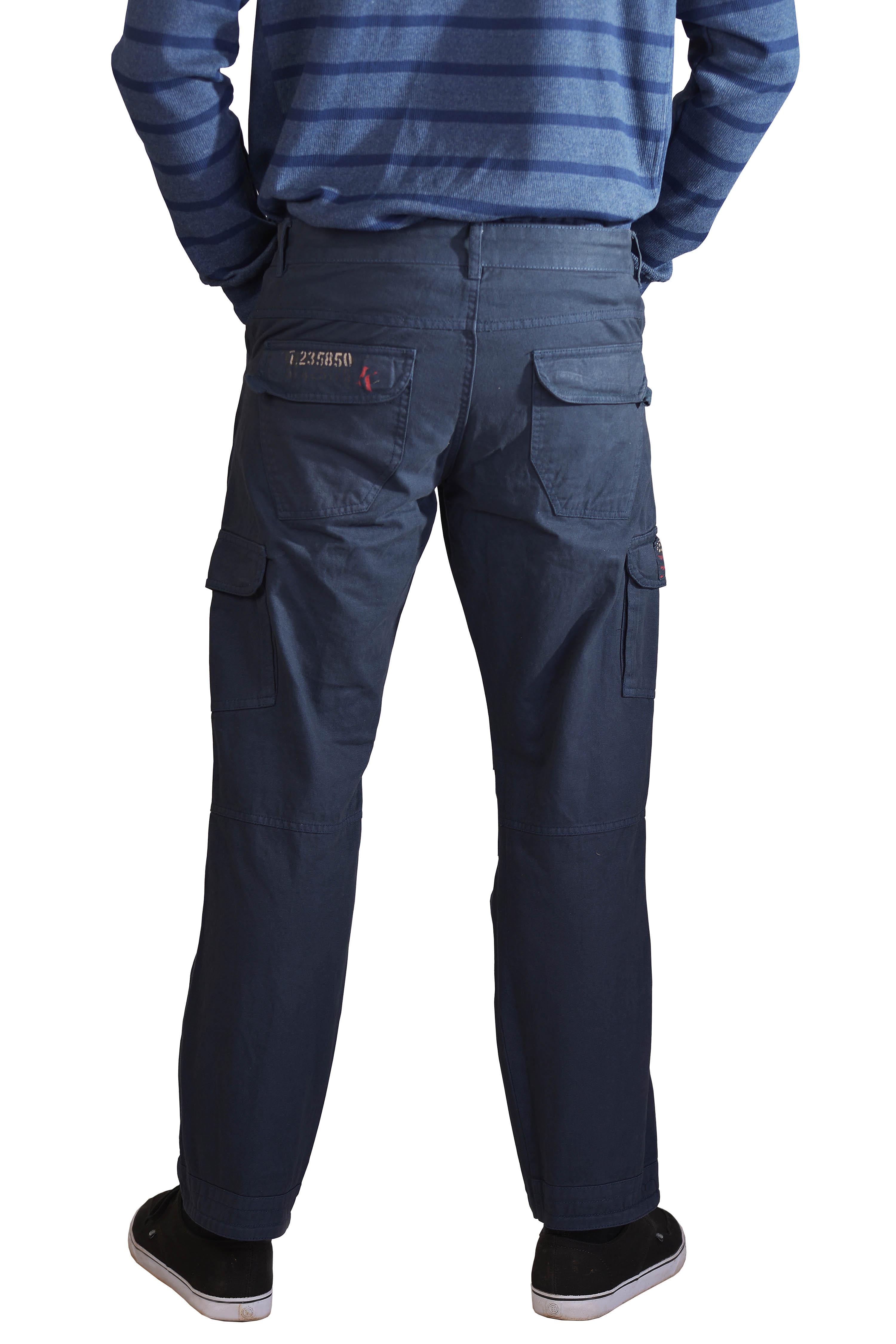 Kera Collection Cargo Hose blau
