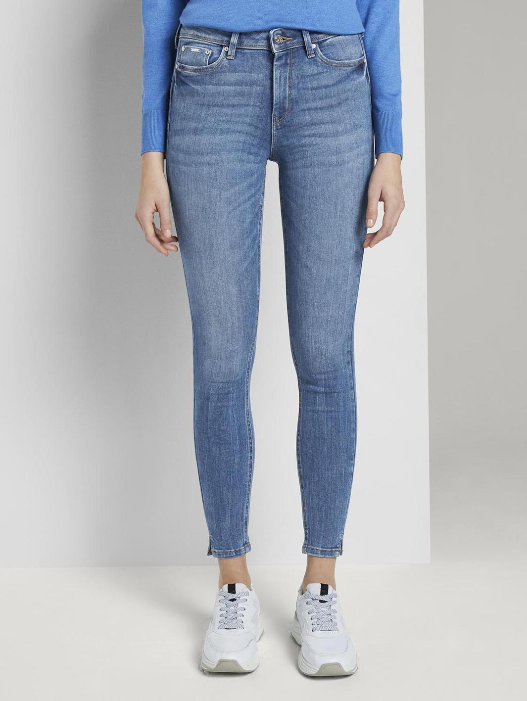 Tom Tailor Nela Skinny Jeans mit Schlitzen
