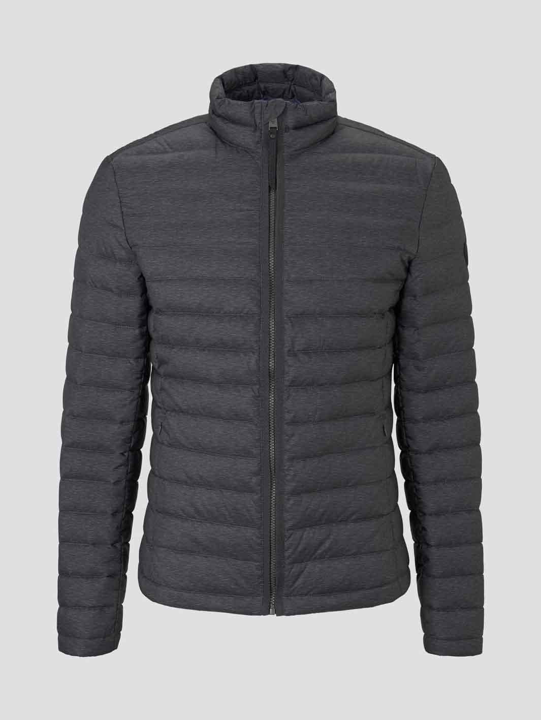 Tom Tailor leichte Jacke mit Stehkragen black