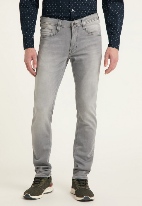 Mustang Oregon Tapered K denim grey