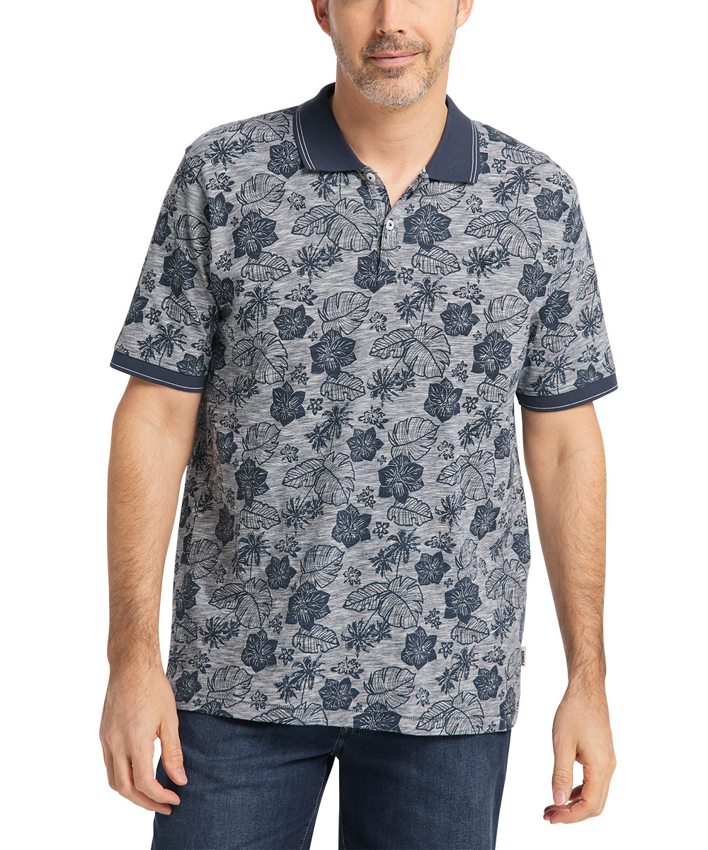 Pioneer Polo Dark Indigo Flower
