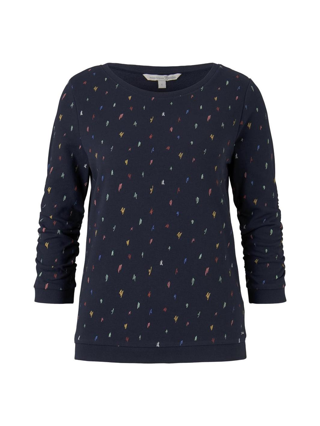 Tom Tailor gemustertes Sweatshirt