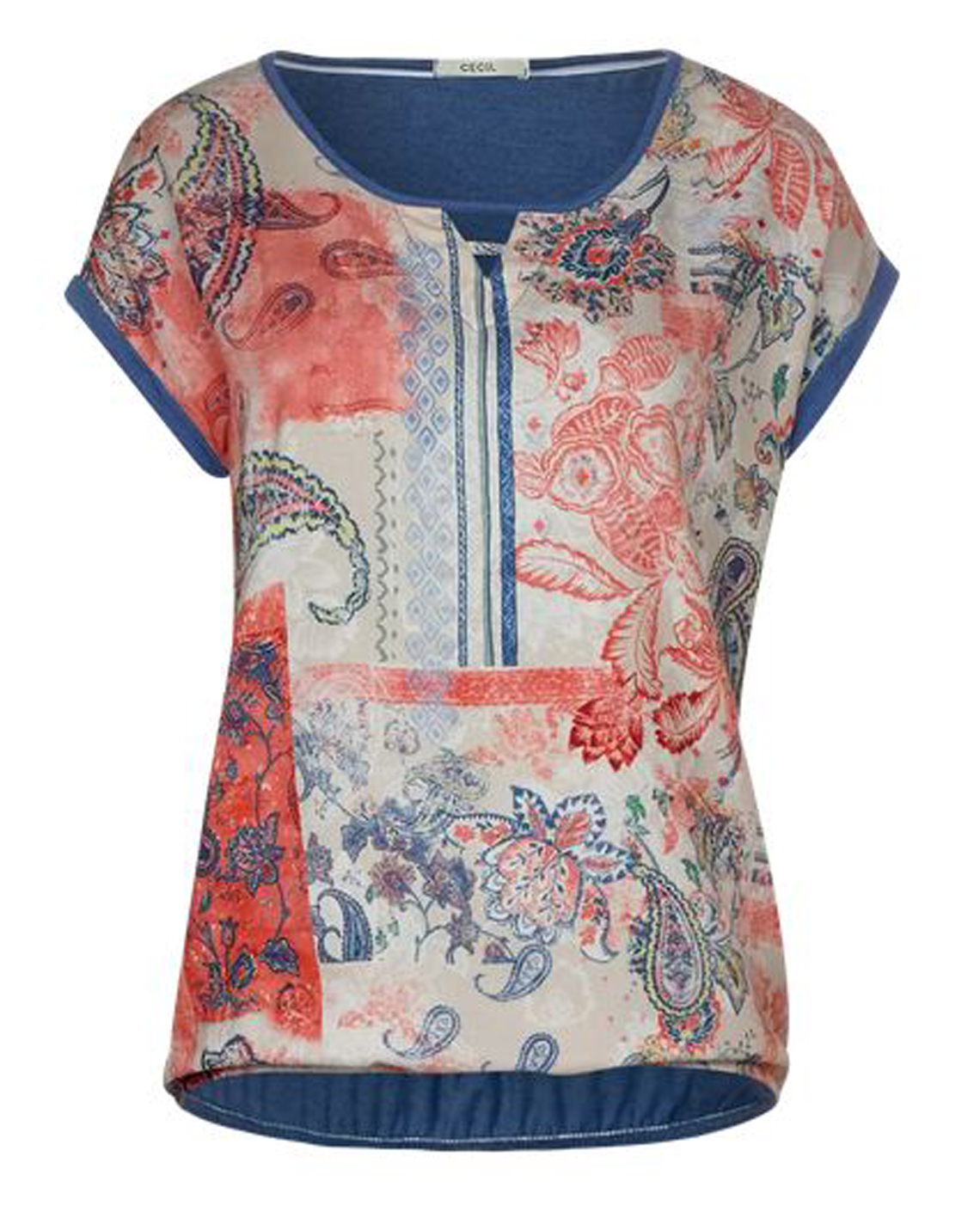 Cecil Shirt mit Paisley Muster
