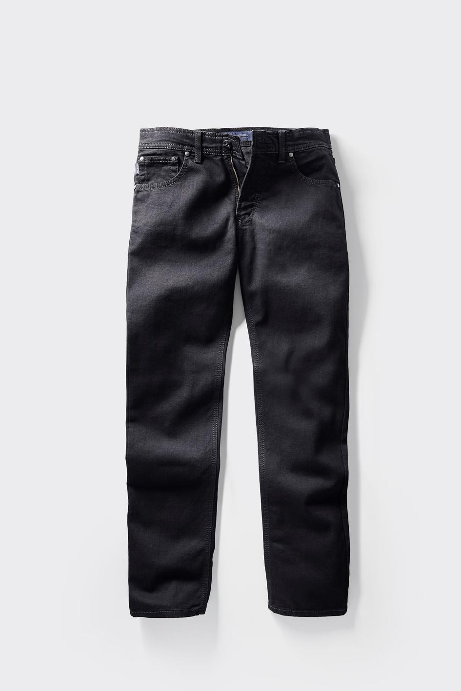 Pionier Jeans Marc extra lang schwarz