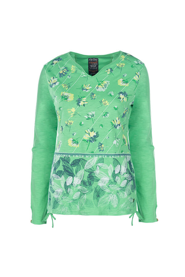 Soquesto Shirt Jessica lime