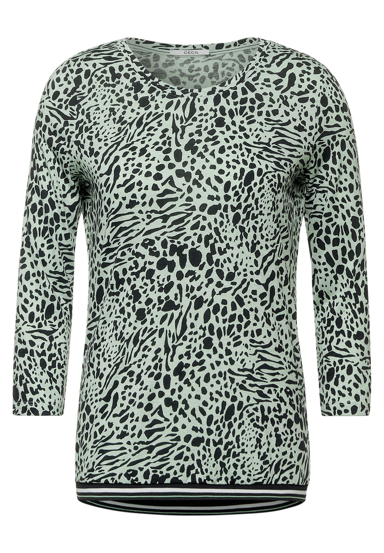 Cecil Shirt Animal Melange