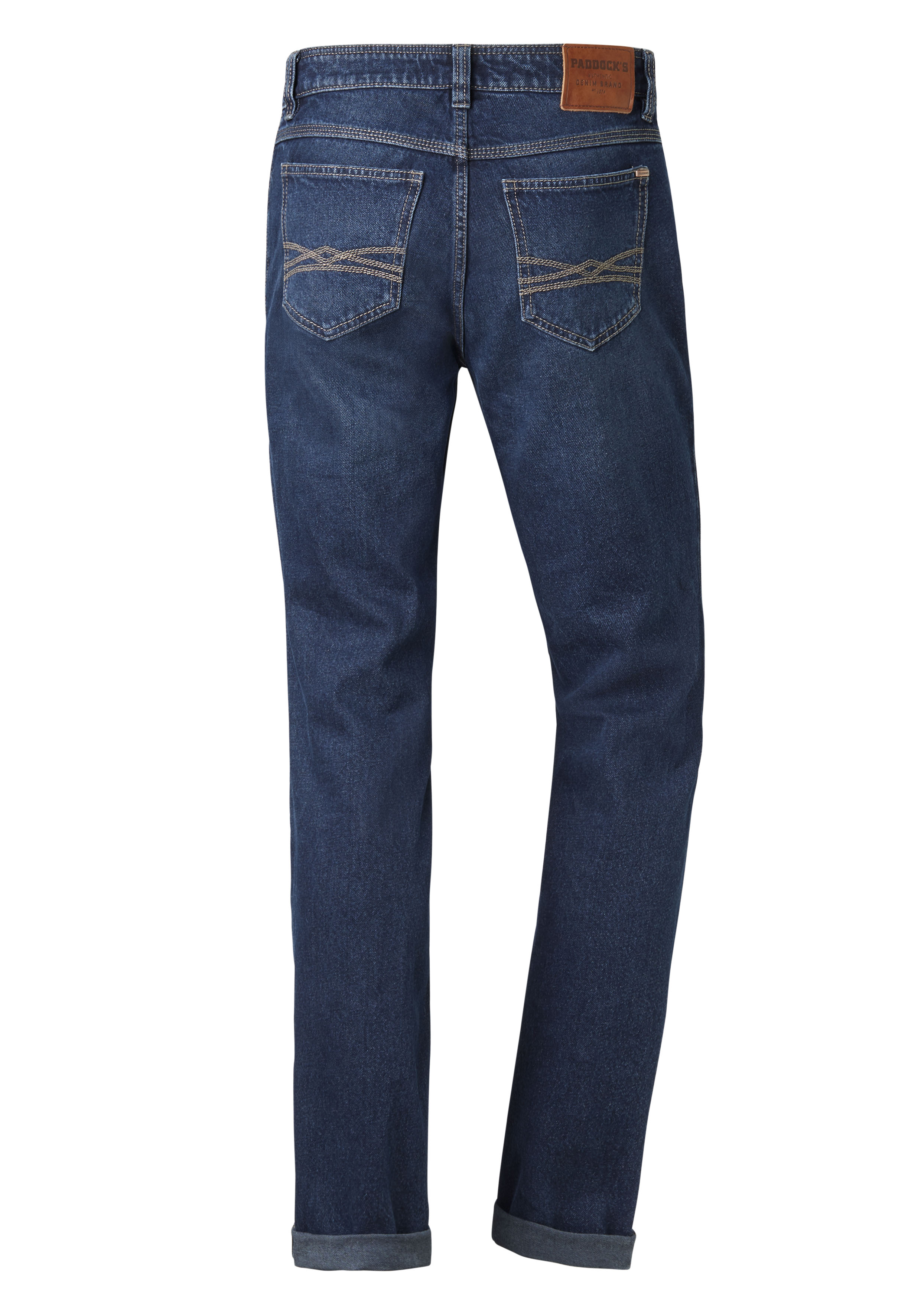 Paddock's Pipe Rigid Denim extra lang