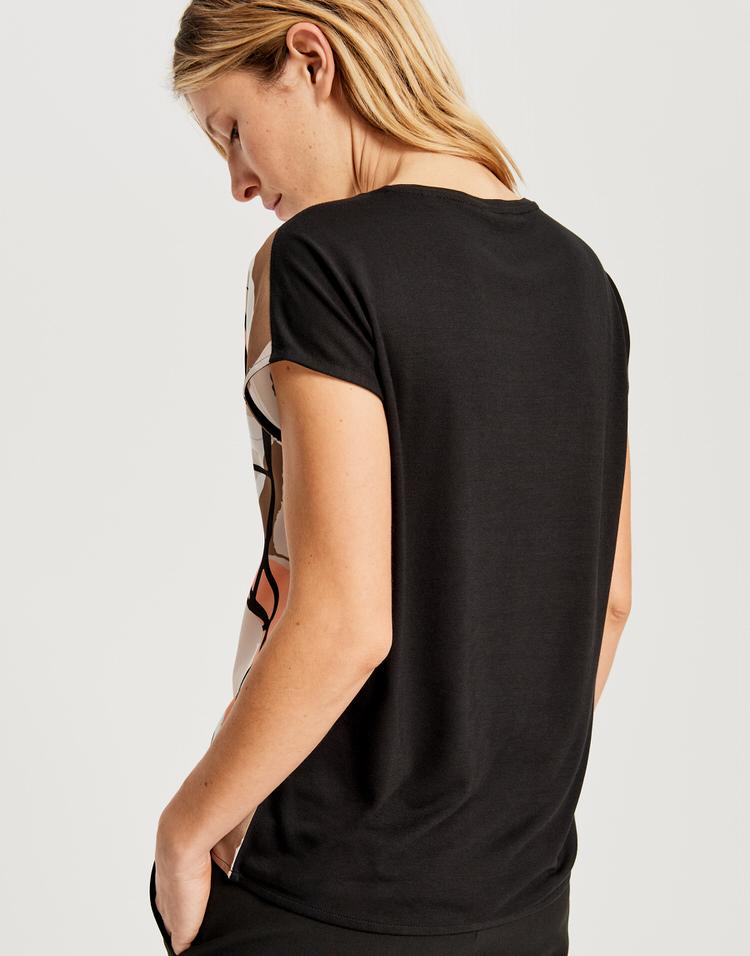 Opus Shirt Sanosi Print sand